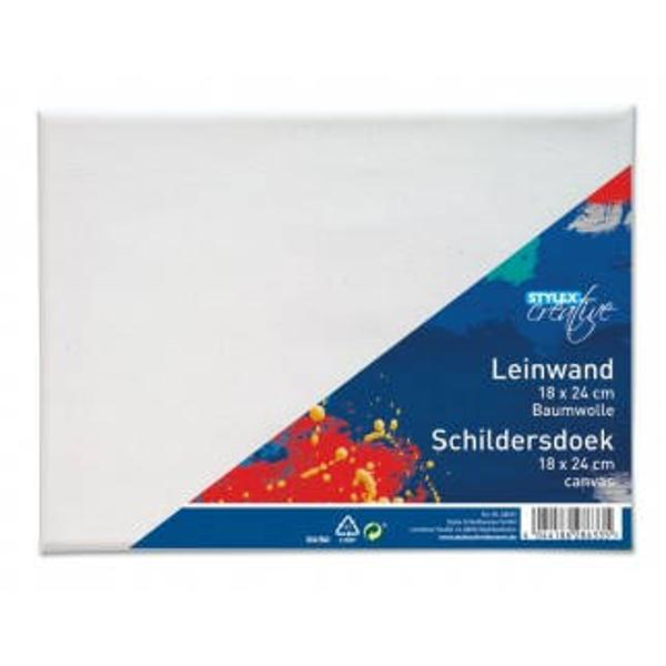 Panza pentru pictura 18x24 cmFabricata din bumbac 100 pe rama de lemnProdus de TOPPOINT-Germania