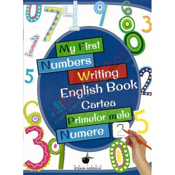 My First Numbers Writing English Book