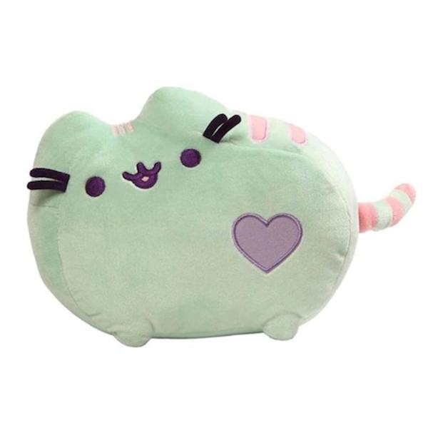 Legendara mascota Pusheen fabricata din material de calitate foarte rezistent care va deveni cea mai buna prietena a copilului tau