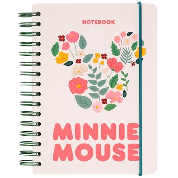 Agenda Disney Minnie Mouse A5 90 de file spirala exterioara cu elastic si buzunar interior produs licentiatAceasta agenda este un produs licentiat care are o hartie acoperita cu efect holografic laminat matEste prevazuta cu buzunare interioare colturi rotunjite si o spirala exterioaraInchiderea se face cu ajutorul unei benzi elasticeInterior este punctat cu fretwork si are un buzunar extensibilAre 90 de file cu hartie de 100gm2 in format