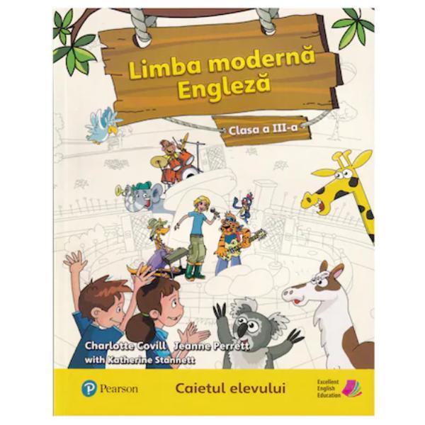 Caiet de limba engleza clasa a III a