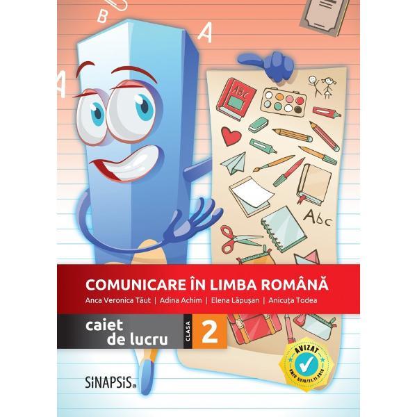Autori Anca Veronica T&259;ut Anicu&539;a Todea Adina Achim Elena L&259;pu&537;anRecomand&259;m utilizarea caietului împreun&259; cu manualul Editurii Didactice &537;i Pedagogice pentru Comunicare în limba român&259; clasa a II-a autori Gabriela B&259;rbulescu Daniela Be&537;liu Daniela-Elena Ioni&539;&259;Avizat MEC prin Ordinul 531821112019 pozi&539;ia 240 pagina 16 în tabelConceput de autori cu