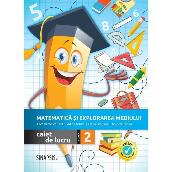 Autori Anca Veronica T&259;ut Anicu&539;a Todea Adina Achim Elena L&259;pu&537;anRecomand&259;m utilizarea caietului împreun&259; cu manualul Editurii Didactice &537;i Pedagogice pentru Matematic&259; &537;i explorarea mediului clasa a II-a autori Constan&539;a B&259;lan Cristina Voinea Corina Andrei Nicoleta StanAvizat MEC prin Ordinul 531821112019 pozi&539;ia 244 pagina 17 în