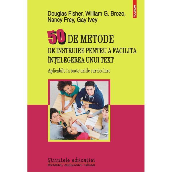 Traducere de Raluca Ungureanu Drago&537; Rusu Ovidiu-Gheorghe Ru&539;a Liliana Romaniuc coordUn excelent instrument de lucru pentru profesorii din înv&259;&539;&259;mîntul preuniversitar volumul reune&537;te cele mai eficiente metode didactice menite s&259;-i ajute pe elevi s&259;-&537;i îmbun&259;t&259;&539;easc&259; abilit&259;&539;ile de citire scriere exprimare oral&259; ascultare precum &537;i de vizualizare a unui text Avînd