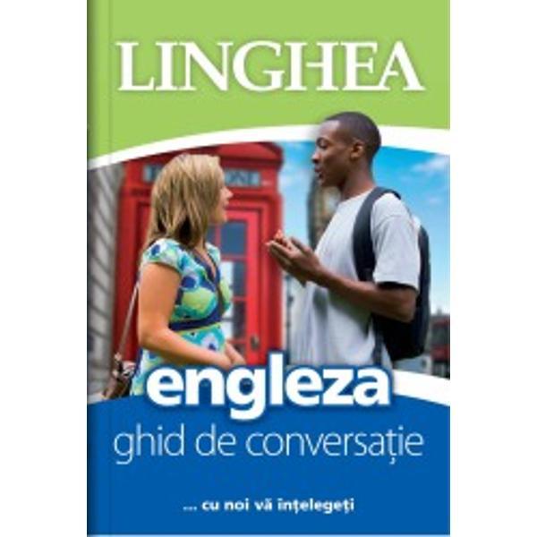 Acest ghid de conversa&539;ie v&259; ajut&259; s&259; comunica&539;i simplu &537;i eficient chiar dac&259; sunte&539;i încep&259;tor într-ale englezei Conceput pentru a întâmpina orice fel de situa&539;ie &537;i nevoie a românului aflat printre vorbitori ai limbii engleze ghidul promite orientarea u&351;oar&259; în text &537;i conversa&539;ii reu&537;ite