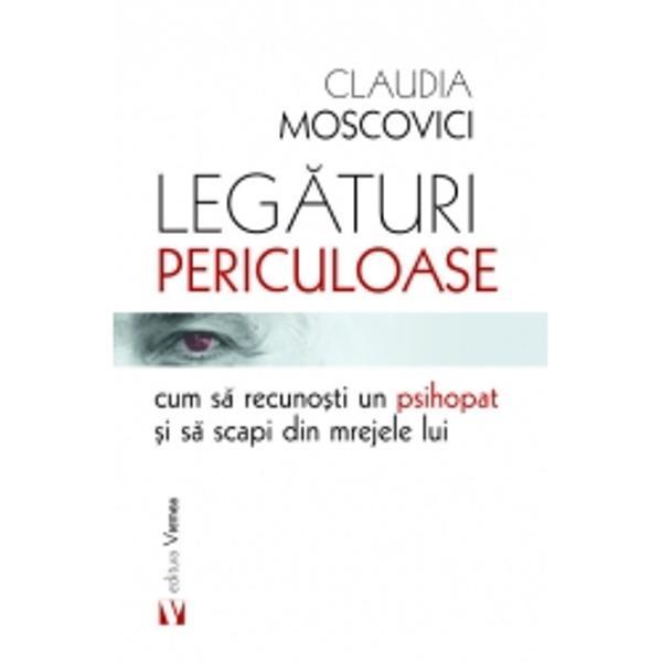 Ca specialist clinician în tulbur&259;ri de personalitate din spectrul narcisist sunt de p&259;rere c&259; nimeni nu abordeaz&259; acest subiect mai tran&537;ant &537;i cu mai mult&259; profunzime a în&539;elegerii decât Claudia Moscovici în lucrarea ei atât de substan&539;ial l&259;muritoare Leg&259;turi periculoase Percep&539;ia ei are cu adev&259;rat acurate&539;e clinic&259; &537;i