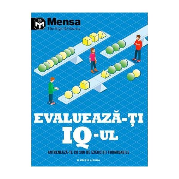 Cartea ofera o serie stimulativa de puzzle-uri antrenante create special de membrii Mensa care iti vor pregati mintea pentru un test de tipul IQ