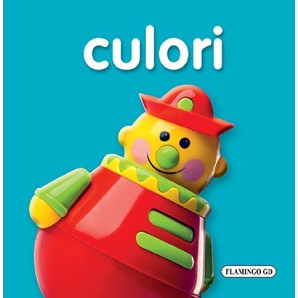 Toti copiii sunt incantati de aceste carti in care invata culorile intr-un mod