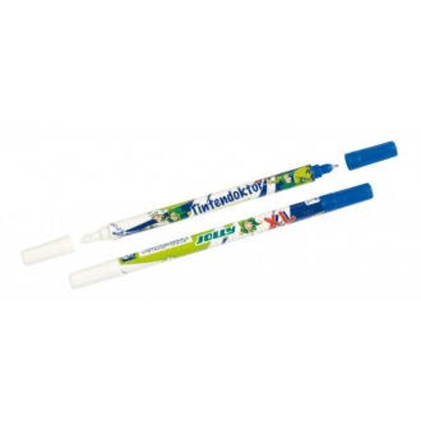 Creion pic cu rescriere cu varf grosEste ideal pentru a sterge suprafete mari Sunt foarte populare in Austria Calitate deosebita Culoare albalbastruverdeProdus de JOLLY-Austria