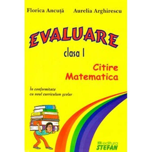 Evaluare clasa I - Stefan