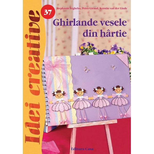 Recomand&259;m aceast&259; carte gr&259;dini&355;elor &351;i &351;colilor deoarece confec&355;ionarea ghirlandelor de hârtie este simpl&259; nu necesit&259; multe materiale &351;i dezvolt&259; aptitudinile manuale ale copiilor Ghirlandele realizate se pot folosi la decorarea s&259;lilor de clas&259; se pot oferi de ziua mamei sau la diverse anivers&259;riGhirlandele de hârtie sunt potrivite pentru decorarea înc&259;perilor dar nu numai ele