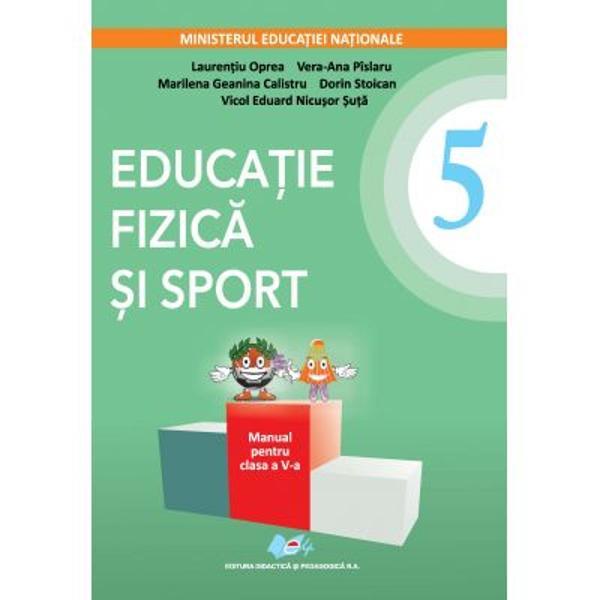 Manual educatie fizica si sport clasa a V a editia 2021