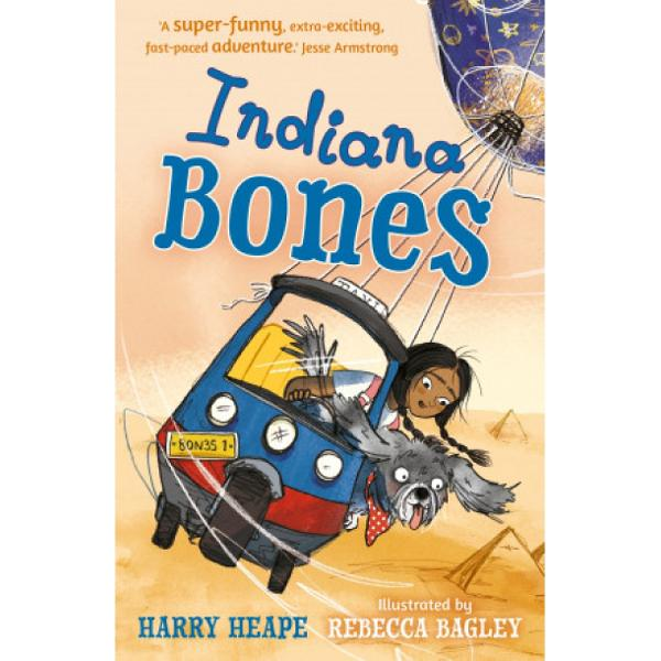 Indiana Bones is a shaggy dog with a difference Hes got superpowers and can sniff out criminals and - with his young friend and owner Aisha - solve mysteries that would flummox the worlds more expert detectivesIn their first case they are on the trail of treasure hidden centuries ago by a legendary knight known as The Lonely Avenger an adventure which takes them all the way to Egypt and the pyramidsA hugely inventive new series from one of the