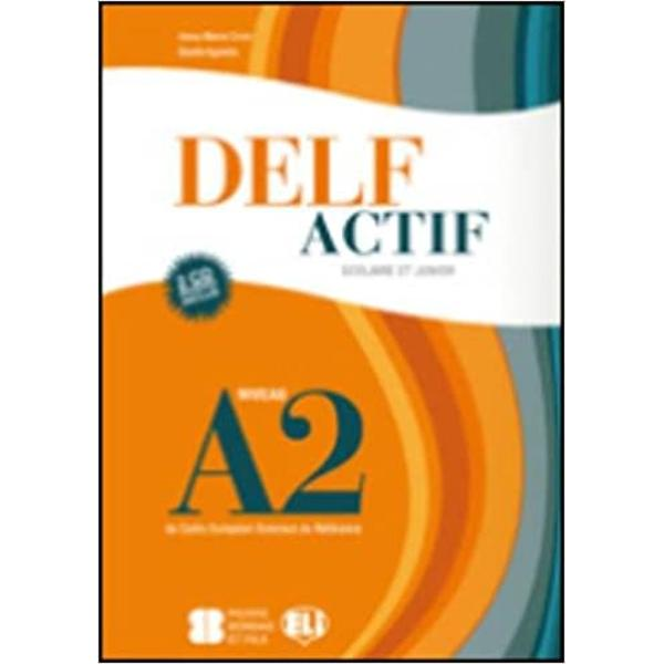 Delf A2 scolaire vol cds