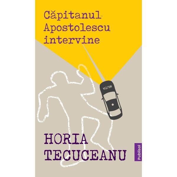 """""""Capitanul Apostolescu intervine"""" este al doilea roman scris de Horia Tecuceanu Imediat dupa aparitia primei editii cartea a devenit bestseller national impunåndu-l pe autor drept unul dintre cei mai buni scriitori de literatura politist ai epocii sale Trecerea timpului n-a facut decåt sa confirme faptul ca Tecuceanu este unul dintre maestrii thrillerului politist de la noi din tara alaturi de Rodica Ojog-Brasoveanu si Haralamb ZincaAsasinate comise"""