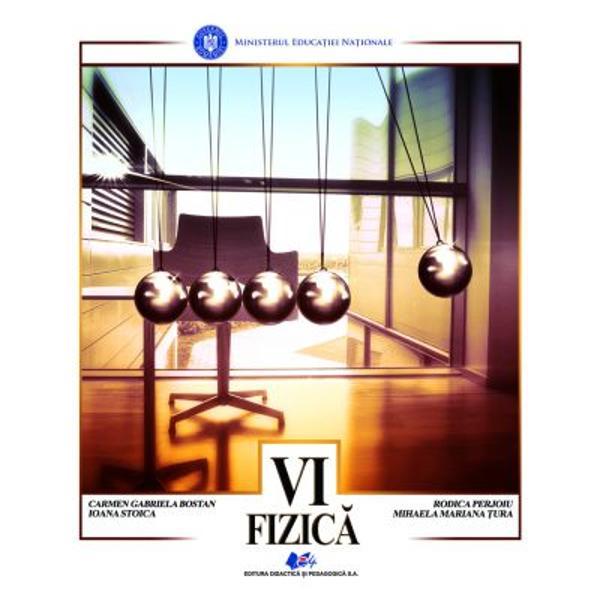 Manual fizica clasa a VI a editia 2021 Bostan