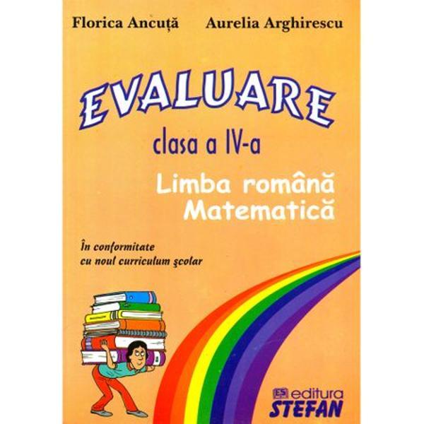 Evaluare clasa a IV-a - Stefan