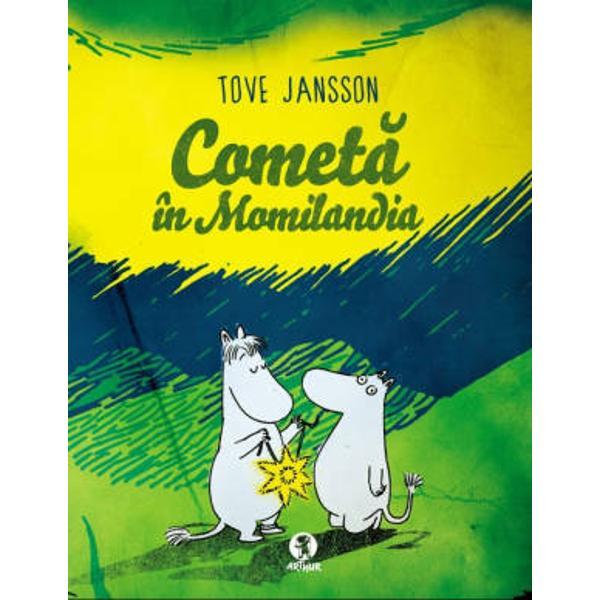 Tove Jansson unul dintre cele mai importante nume ale literaturii pentru copii si cea mai tradusa&131; scriitoare finlandeza&131; din toate timpurile apare acum in limba romana&131; Prin deja clasica serie Momin scriitoarea si ilustratoarea finlandeza&131; a reusit sa&131; consacre cateva personaje memorabile recunoscute de copiii de pretutindeni Smiorc Domnita Fandosica unchiasul PuftabacIn acest prim volum Momi si Smiorc afla&131; ca&131; o cometa&131; se apropie de