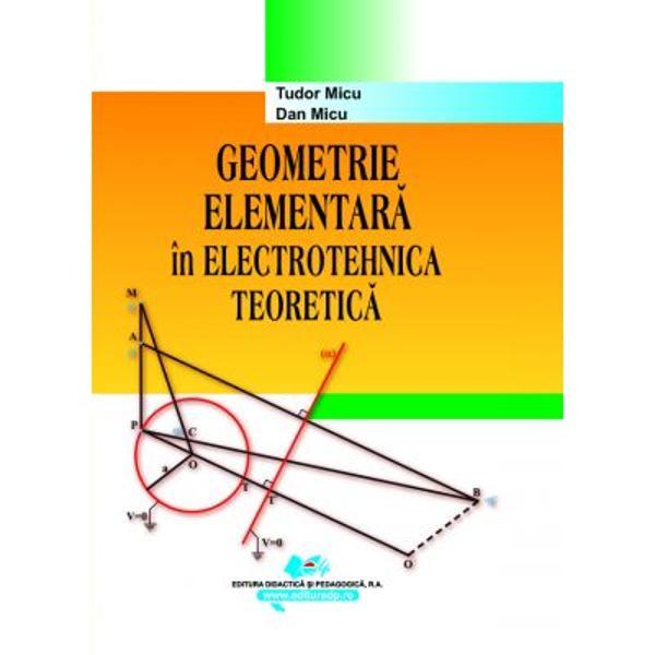 Cartea î&351;i propune s&259; pun&259; în eviden&355;&259;importan&355;a geometriei elementare în studiul electrotehnicii teoretice În acest scop sunt alese capitolele de electrotehnic&259; în care geometria apare ca un instrument important &351;i anume electrostatica &351;i teoria circuitelor de curent continuu &351;i de curent alternativdiv styletext-align