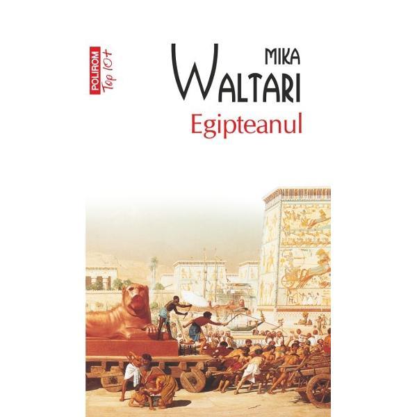 Cincisprezece carti care contin memoriile medicului Sinuhe 1390-1335 iChrRomanul lui Mika Waltari este o impresionanta punere in scena a Egiptului din secolul al XIV-lea iChr cind prabusirea unuia dintre cele mai mari imperii din istorie era iminenta Naratiunea isi poarta cititorul prin intreaga lume cunoscuta atunci – din Babilon in Creta si