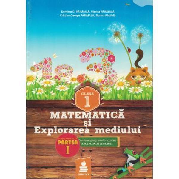 Matematica explorarea mediului clasa I set III