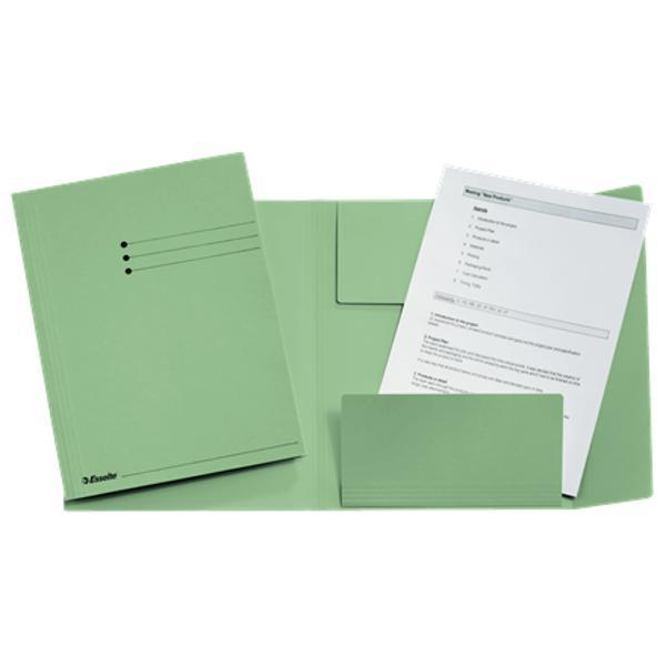Arhivare u&537;oar&259; &537;i rapid&259; a documentelor3 clape ce previn pierderea documentelorDisponibil în diverse culori pentru organizarea sistematic&259; a documentelorFormat A4Fabricat din carton 100 reciclat &537;i complet reciclabil certificat Blue Angel