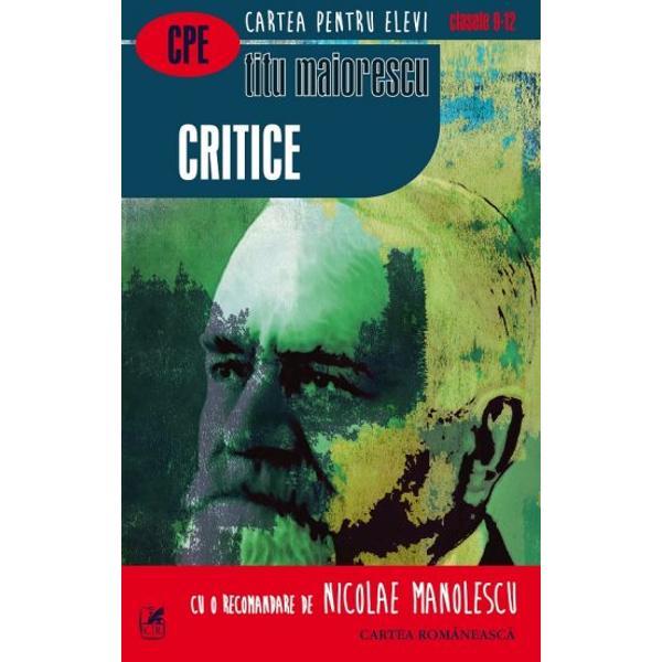 Critice Titu Maiorescu