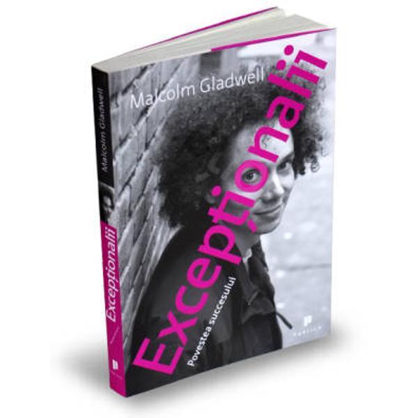 Viata exceptionalilor    oamenii ale ca&131;ror performante ies din sfera experientei comune   urmeaza&131; o logica&131; stranie si inedita&131; Pentru a descrie aceasta&131; logica&131; Gladwell vine cu un proiect de valorificare maxima&131; a potentialuluiExceptionalii este o carte mai personala&131; decat predecesoarele sale O poti citi ca pe o autobiografie un individ de succes care incearca&131; sa&131;-si inteleaga&131; contextul felul in care a ajuns sa&131;