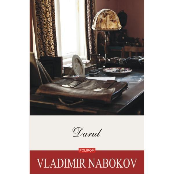 O carte extrem de controversata inca de la aparitie si ultima scrisa de Nabokov in limba maternaDarul1938 este o oda adusa literaturii ruse evocind operele lui Puskin Gogol Blok Nekrasov si ale multor altora de-a lungul unei naratiuni in al carei miez se ascunde si o poveste de dragoste povestea contelui Feodor Godunov-Cerdintev un tinar poet emigrant care locuieste la Berlin si viseaza sa scrie cindva o carte extraordinara intitulataDarul