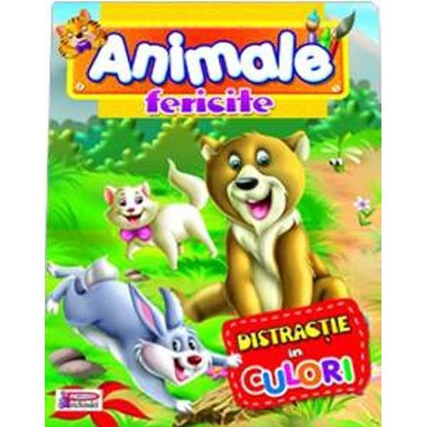 Animale fericite - Distractie in culori
