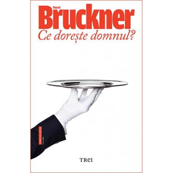 In dramaturgia mea am vrut sa surprind singuratatea oamenilor tratata la modul unei farse    Pascal Bruckner  Ce doreste domnul  este o comedie absurda care parodiaza pana la grotesc frecventele contexte ale societatii de consum  ofertele excesive denumirile pretentioase erorile mediocritatea si comunicarea superflua Craciun la palat este o comedie politica de situatie care face aluzie la Franta contemporana dar ale carei implicatii sunt valabile in orice context inclusiv in cel haotic si