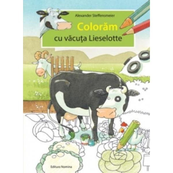 Lieselotte are mereu ceva de facut Va veti bucura de aventurile lui Liesellote si ale prietenilor ei pentru ca acestea va sunt przentate intr-o grafica atragatoare Veti colora si veti desena cu mare placere