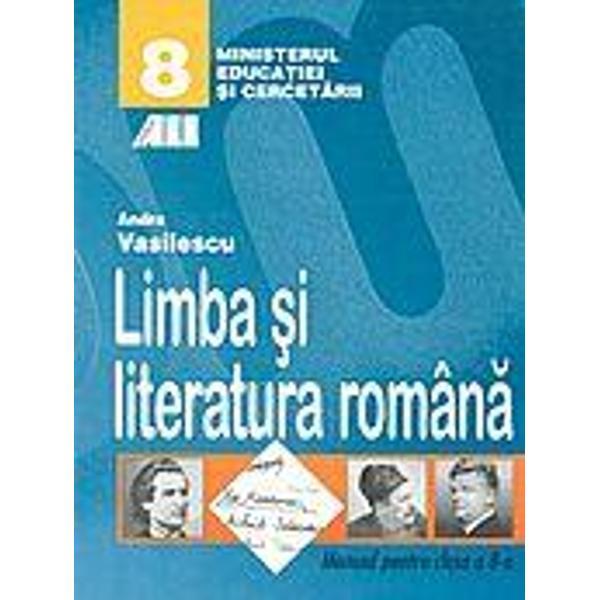 Romana - manual VIII - Vasilescu