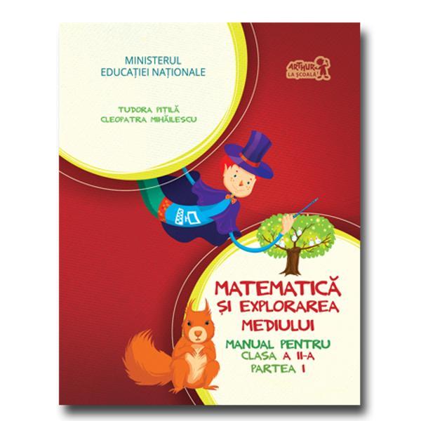 Matematica si explorarea mediului clasa a II a partea I  CD