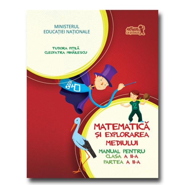Matematica si exporarea mediului clasa a II a partea a II a  CD