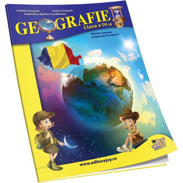 Geografie clasa a IV-a Auxiliar scolar