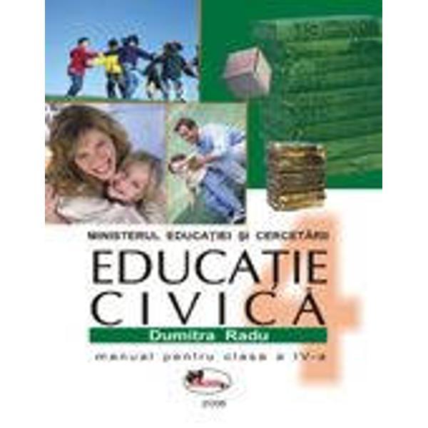 Manual de educatie civica pentru clasa a IV-a