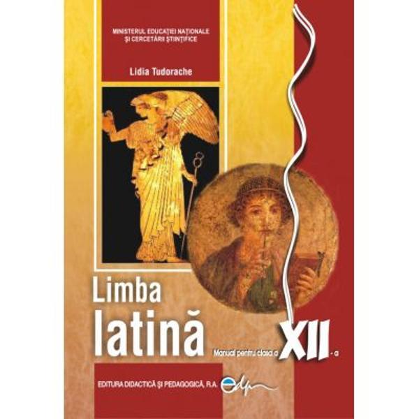 Manualul de limba si literatura latina se adreseaza elevilor de la specializarea filologie si celor de la liceele teologice Manualul contine studiul literaturii latine Lucretius-poemul didactic; Catullus-elegia; Vergilius-poemul didactic epopeea; Horatius-satira oda; Ovidius-elegia; Prudentius-imnul religios; Augustinus-proza crestina si urmareste aprofundarea notiunilor de morfologie si sintaxa a cazurilor si a frazeisi de versificatie