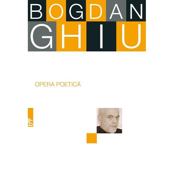 Lansat în anii '80 Bogdan Ghiu e unul dintre cei mai interesan&355;i poe&355;i români ai ultimelor decenii foarte perso&173;nal st&259;pînind peste un teritoriu al lui &351;i numai al lui metapoezia Înc&259; de la început scria Poem dup&259; Poem titlul pe-atunci pre&173;dilect pentru a ob&355;ine efecte de profunzime de surpriz&259; de mister din reflec&355;ia fulgurant&259; asupra textului asupra limbajului asupra poeziei Se vedea