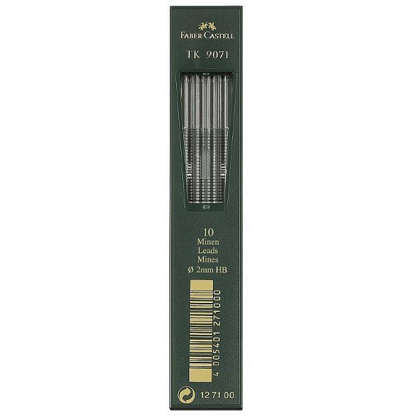mine grafit de cea mai buna calitateduritate Btraseaza linii intenselungimea minei de creion 130mmdiametrul minei2mm10 mine in etuifabricat in Germania
