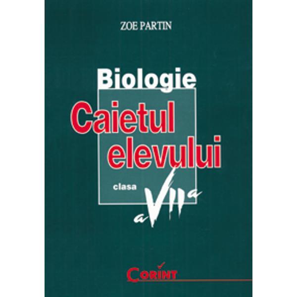 Biologie VII caiet ed2006