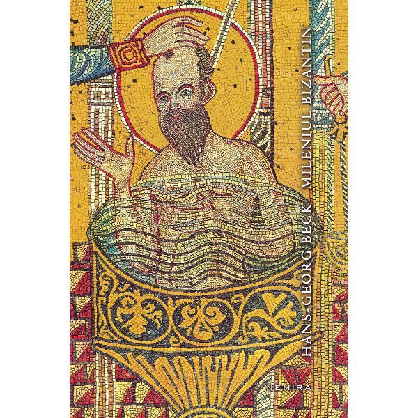 """""""Este o alta fata a Bizantului cu suisurile si coborasurile sale cu realizarile si esecurile sale cu bucuria si tristetea sa cu maretia si lupta pentru supravietuire pe scurt cu tot ceea ce angaja acea Weltanschauung care ii defineste specificitatea in calitate de comunitate umana Hans-Georg Beck recunoaste ca «existenta stralucitoare a bizantinului nu poate fi contestata» dar pune in balanta cu precadere ceea ce defineste cotidianul"""