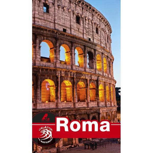 Seria de ghiduri turistice Calator pe mapamond este realizata în totalitate de echipa editurii Ad Libri Fotografi profesionisti si redactori cu experienta au gasit cea mai potrivita formula pentru un ghid turistic Roma complet