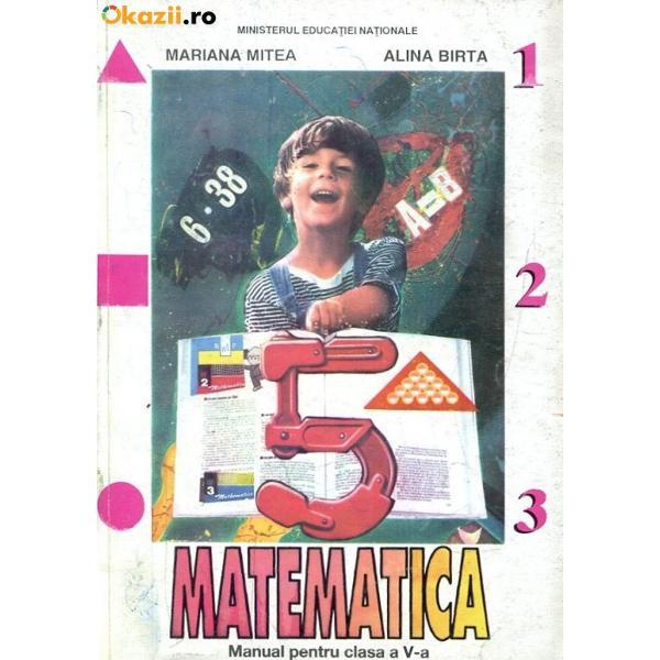Matematica clasa a V a Alina Birta