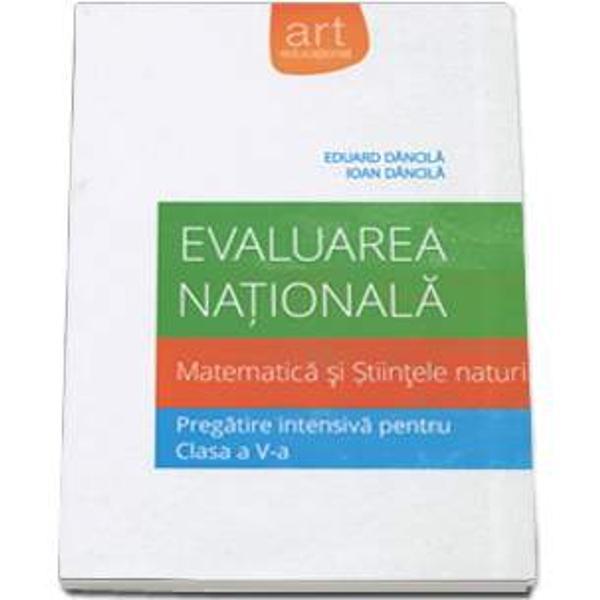 Evaluare nationala 2015 Matematica si Stiintele naturii pentru clasa a V-a