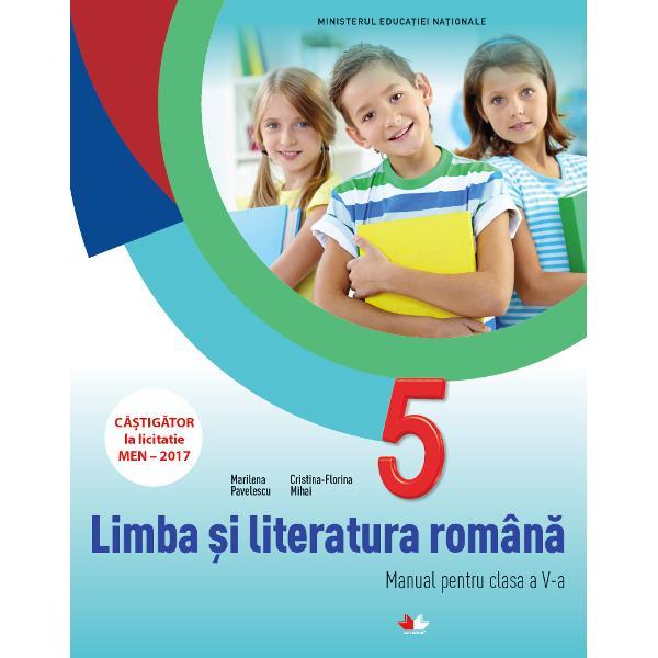 Manual limba si literatura romana clasa a V a  CD