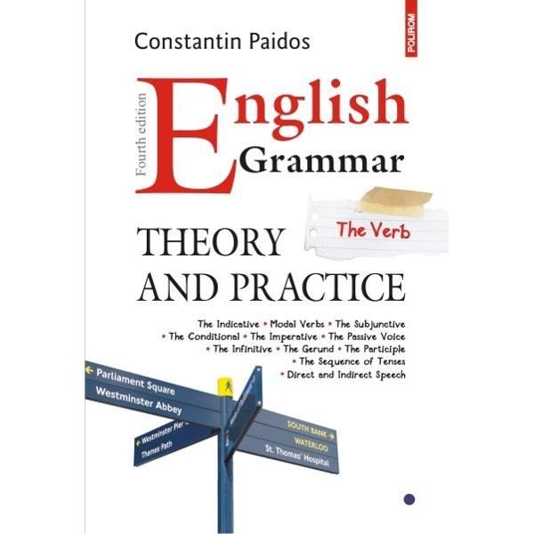 In primele doua volume cei interesati gasesc pe linga notiuni fundamentale de morfologie si sintaxa exercitii cu diferite grade de dificultate Pentru verificarea raspunsurilor la teste volumul al treilea va ofera cheia celor mai dificile exercitii English Grammar poate fi folosita de toti cei care doresc sa-si perfectioneze sau sa-si aprofundeze cunostintele de limba engleza dar si de cei interesati de subtilitatile ei la un nivel avansat