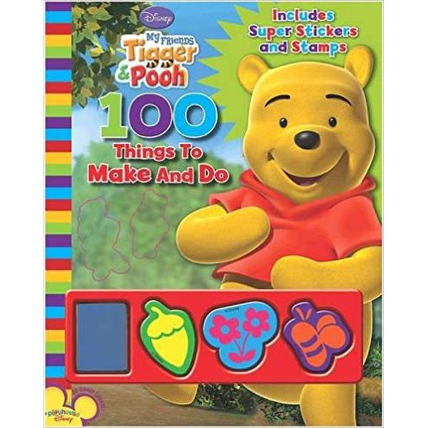 Disney My Friends Tigger and Pooh 100 Things to Make and Do
