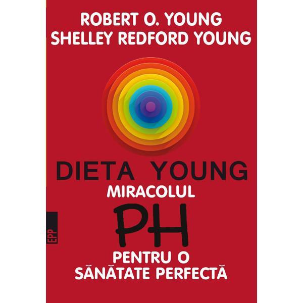 Robert O Young este microbiolog &537;i nutri&539;ionist Shelley Redford Young este specialist&259; &238;n nutri&539;ie Cei doi so&539;i pun la dispozi&539;ia cititorilor un program de via&539;&259; revolu&539;ionar care se bazeaz&259; pe detoxificarea organismului normalizarea digestiei &537;i a metabolismului eliminarea bacteriilor d&259;un&259;toare organismului Toate acestea sunt posibile prin eliminarea alimentelor care provoac&259; aciditate &537;i o suplimentare