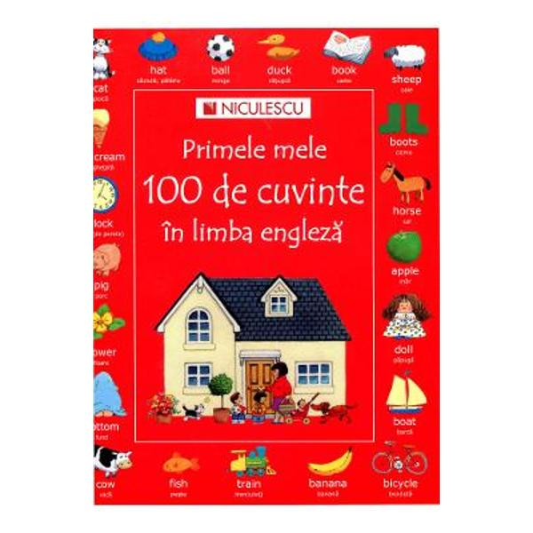 Aceasta carte se adreseaza copiilor cu varsta cuprinsa intre 3 si 6 ani care invata primele 100 de cuvinte in limba englezaCu ajutorul imaginilor atractive